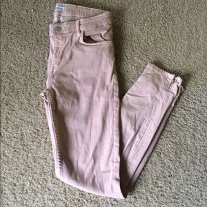 Light pink Zara skinny jeans